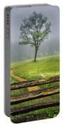 Cades Cove Misty Tree Portable Battery Charger