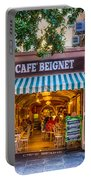 Cafe Beignet Morning Nola Portable Battery Charger