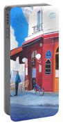 Cafe Des Musees Paris Portable Battery Charger