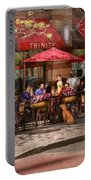 Cafe - Hoboken Nj - Cafe Trinity  Portable Battery Charger