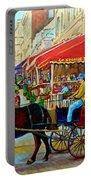 Cafe La Grande Terrasse Portable Battery Charger