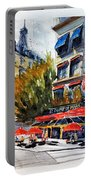 Cafe Le Champ De Mars Portable Battery Charger