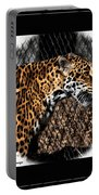 Caged Jaguar Portable Battery Charger