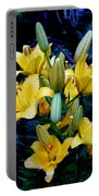 Caged Lilies Portable Battery Charger