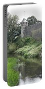 Cahir Castle Wall And River Suir Portable Battery Charger