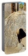 Cahuilla Indian Dwelling In Andreas Canyon In Indian Canyons-ca Portable Battery Charger