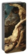 Cain Slaying Abel Portable Battery Charger