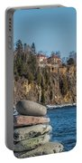 Cairn An Split Rock Lighthouse Portable Battery Charger