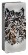 Cairn Terrier Martha Portable Battery Charger