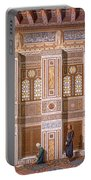 Cairo Interior Of The Mosque Portable Battery Charger