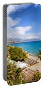 Calahonda Beach In Nerja Portable Battery Charger