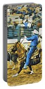 Calf Ropers Portable Battery Charger