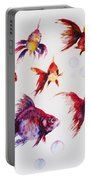 Calico Ryukin Goldfish Portable Battery Charger