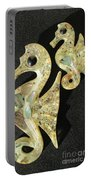 California Mid Century Modern Abalone Sea Horses Portable Battery Charger