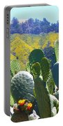 California Big Sur Flowers Portable Battery Charger