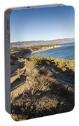 California Coastline From Point Dume Portable Battery Charger