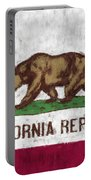California Flag Portable Battery Charger
