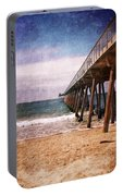 California Pacific Ocean Pier Portable Battery Charger