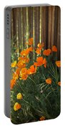 California Poppies Portable Battery Charger