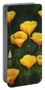 California Poppy Portable Battery Charger by Veikko Suikkanen