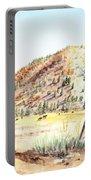 Californian Landscape Saint John Ranch Bald Mountain View Shasta County Portable Battery Charger
