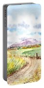 Californian Landscape Saint Johns Ranch Of Mountain Shasta County Portable Battery Charger