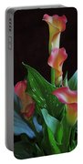 Calla Lilies 1 Portable Battery Charger