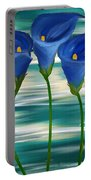Calla Trio- Calla Lily Paintings Portable Battery Charger