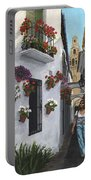 Calleje De Las Flores Cordoba Spain Portable Battery Charger