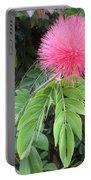 Calliandra Blossom Portable Battery Charger