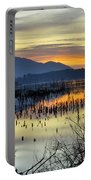 Calm At The Lake Portable Battery Charger
