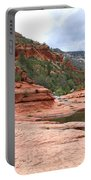 Calm Day At Slide Rock Portable Battery Charger