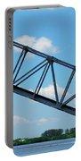 Caloosahatchee Train Draw Bridge Portable Battery Charger