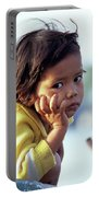 Cambodian Girl 01 Portable Battery Charger