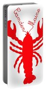 Camden Maine Lobster With Feelers 20150207 Portable Battery Charger