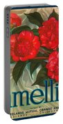 Camellia Crate Label Portable Battery Charger