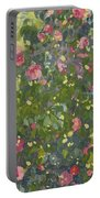 Camellia In Flower Portable Battery Charger