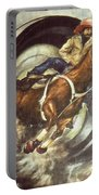 Camera Rodeo - Western Art Portable Battery Charger
