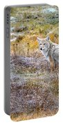 Camo Coyote Portable Battery Charger