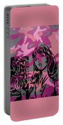 Camo Girl Series Warhol V Lichtenstien Portable Battery Charger