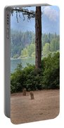 Camp By The Lake Portable Battery Charger