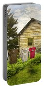 Camp Leconte Portable Battery Charger by Debra and Dave Vanderlaan