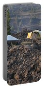 Camping On The Moon Portable Battery Charger