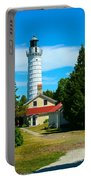 Cana Island Wi Lighthouse Portable Battery Charger
