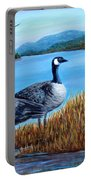 Canada Geese - Lake Lure Portable Battery Charger