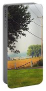 Canada Rural Scene Portable Battery Charger
