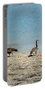 Canadian Geese 2 Portable Battery Charger