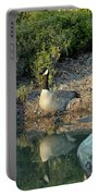 Canadian Goose Reflection Portable Battery Charger