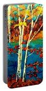 Canadian  Landscape Artist Carole Spandau Portable Battery Charger