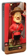 Canadian Mountie Portable Battery Charger